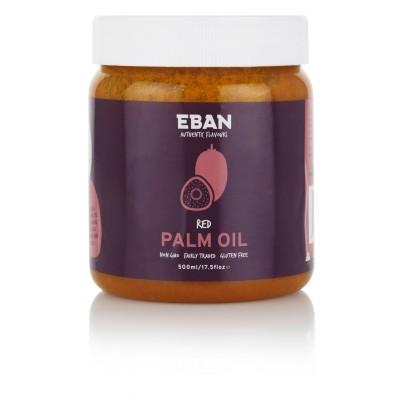 EBAN nerafinovaný palmový olej 500ml