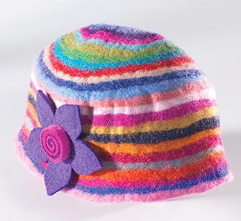 Duhová čepice z Nepálu