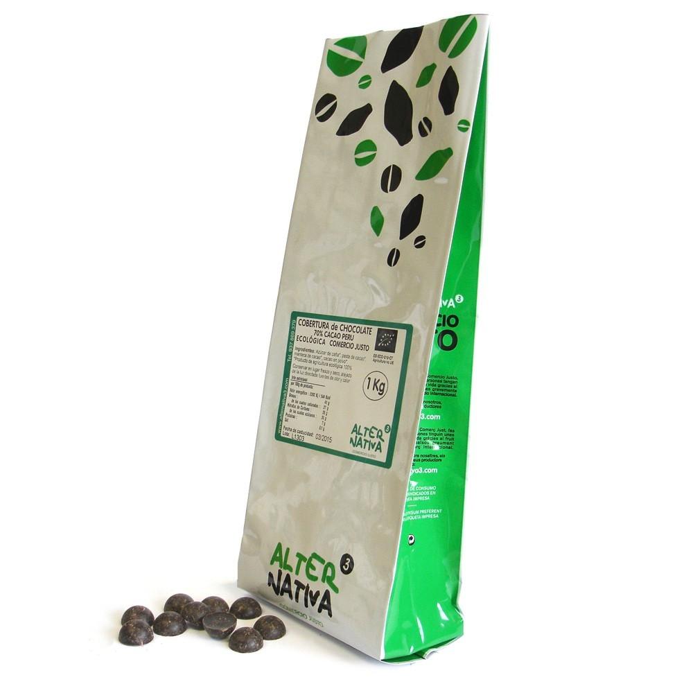 Bio Čokoládové butonky, Alternativa3, 1kg