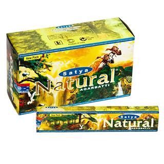 Vonné tyčinky Natural Nag Champa, 15 tyčinek