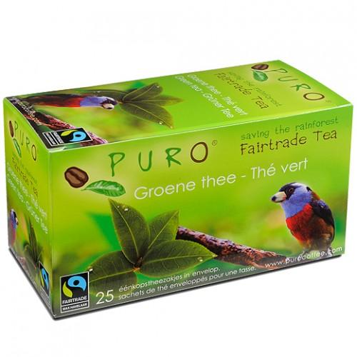 Puro porcovaný čaj zelený, 25x2g