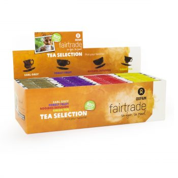 Bio Tea selection - 4 druhy čaje, Oxfam, 100 porcí * 1,8g