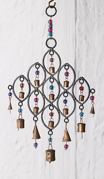 Malá zvonkohra se zvonečky a korálky, Namaste