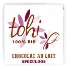 Bio Miničokoládka TOHI mléčná Speculoos, 4,5g