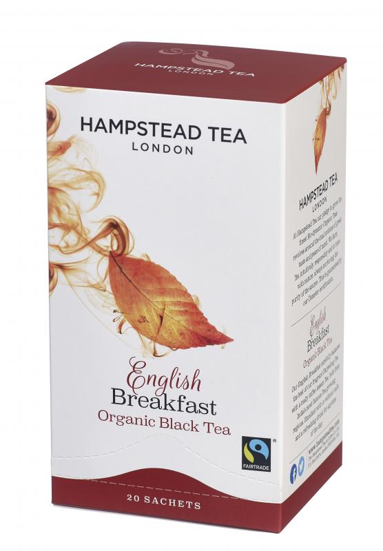 BIO Anglická směs HAMPSTEAD - černý čaj, sáčkový, 20 × 2 g