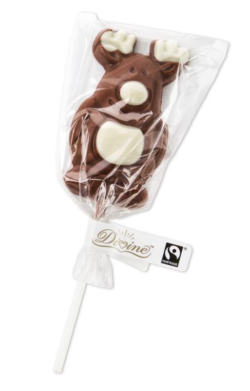 """Divine lízátko """"SOB"""" v mléčné čokoládě, 25 g"""