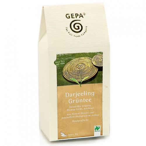 BIO zelený sypaný čaj Darjeeling, GEPA, 100g