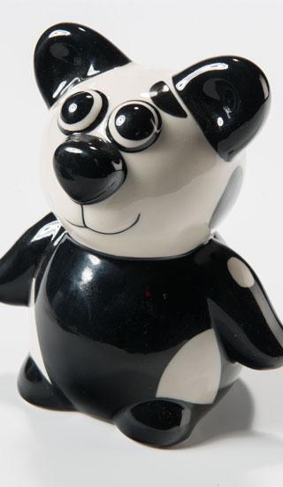 Keramická kasička PANDA, Namaste