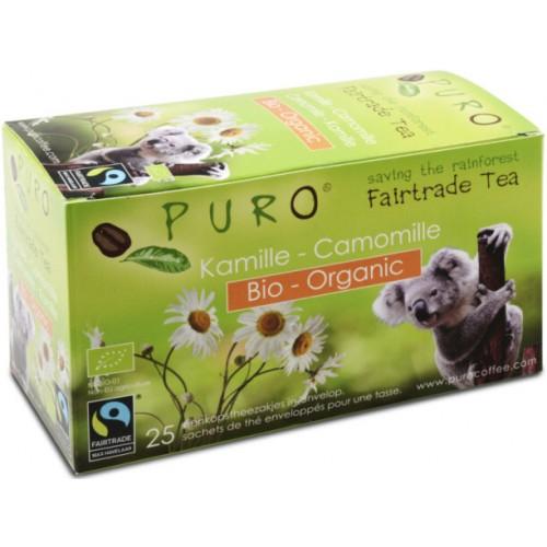 Puro porcovaný BIO čaj heřmánek, 25x2g