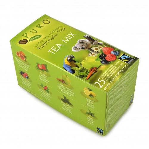 Fairtrade Puro čaj porcovaný MIX 25x2g