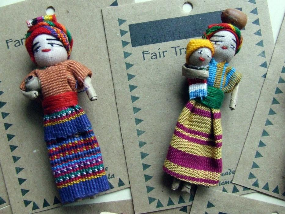 Velká panenka strachu a přání z Guatemaly