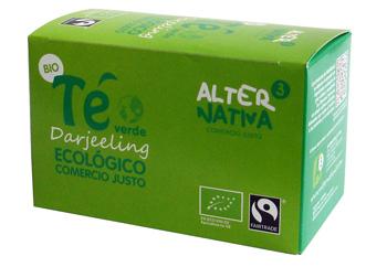 Bio Zelený čaj Darjeeling, Alternativa3, 20 porcí